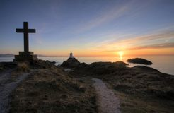 On Ynys Llanddwyn Island Royalty Free Stock Images