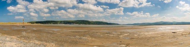 Ynyslas strand, Wales, UK Royaltyfri Foto