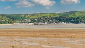 Ynyslas strand, Wales, UK Arkivfoto