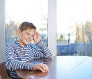 12 yo儿童构成 免版税图库摄影