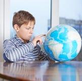 12 yo儿童构成 免版税库存图片