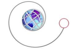 yo мира Стоковое фото RF
