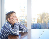 12 yo childen composition Royalty Free Stock Photos