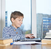 12 yo childen composition Royalty Free Stock Photo
