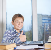 12 yo children composition Royalty Free Stock Image