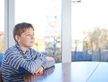12 yo children composition Stock Photo