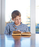 12 yo children composition Stock Photos