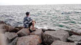 Yo cielo del mar Imágenes de archivo libres de regalías