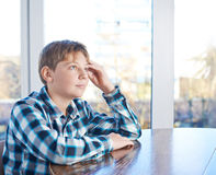 12 yo Kinderzusammensetzung Lizenzfreies Stockbild