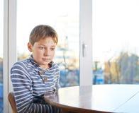 12 yo Kinderzusammensetzung Lizenzfreie Stockbilder