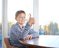 12 yo Kinderzusammensetzung Lizenzfreie Stockfotos