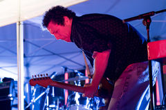 Yo La Tengo (band) in concert at Tibidabo Live Festival Royalty Free Stock Photos