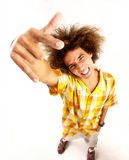 Yo man. Royalty Free Stock Images