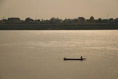 Yo río de Khong Fotografía de archivo