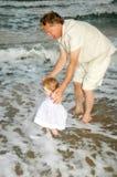 Yo y Grandpa Foto de archivo libre de regalías