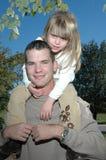 Yo y papá foto de archivo