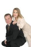 Yo y papá Fotos de archivo libres de regalías