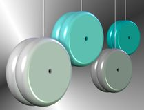 Yo-yo Photographie stock libre de droits
