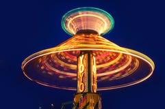 Yo-Yo Amusement ride. With blue sky background Stock Image