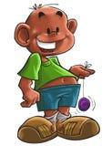 yo-yo del ragazzo Fotografie Stock