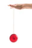 Yo-yo a disposizione Immagine Stock