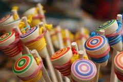 Yo-yo en bois Images stock