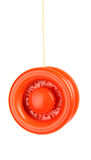 Yo yo toy. Red yo yo isolated on white background Royalty Free Stock Photo