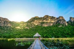 300 yod国家公园,泰国 库存照片