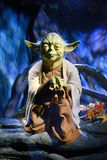 Yoda -杜莎夫人蜡象馆伦敦 免版税库存图片