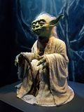 Yoda från Star Wars royaltyfri bild