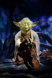 Yoda matrice - signora Tussauds London Fotografie Stock