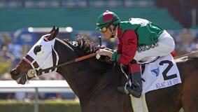 Yodelen Dan ganha a desvantagem do acionador de partida do copo de 2009 Cal Imagem de Stock