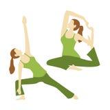 YogaãPose Stock Afbeelding