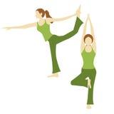 YogaãPose 2 Stock Foto