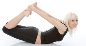 Yogaövning Arkivbild