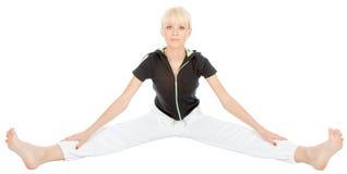 Yogaövning Arkivbilder