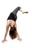 Yoga-Übungs-Frau (3) Lizenzfreies Stockfoto