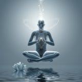 Yoga ?editation illustration de vecteur