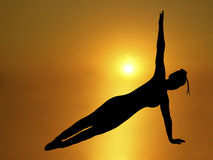 Yoga 1 Royalty Free Stock Image