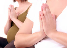 Yoga 1 Royalty Free Stock Photo