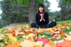 yoga Royaltyfria Bilder