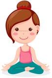 Yoga royalty free illustration