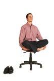Yoga #181 di affari Fotografia Stock