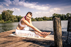 Yoga Royalty Free Stock Photo