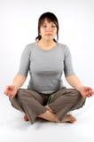Yoga #4 fotografia stock