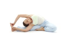 Yoga #4 de Ashtanga Imagenes de archivo