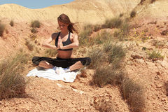 yoga fotografie stock