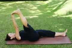 yoga στοκ εικόνα με δικαίωμα ελεύθερης χρήσης