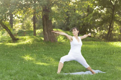 yoga Arkivbild