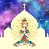 Yoga-15-4 иллюстрация штока